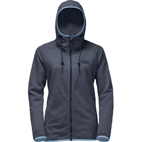 Jack Wolfskin Tongari Hooded Jacket Women midnight blue